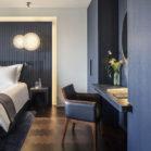 Les chambres de l'hôtel Lutetia