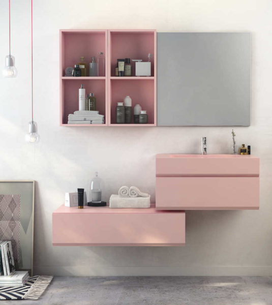 Conseils pour réussir une salle de bains rose | Styles de Bain