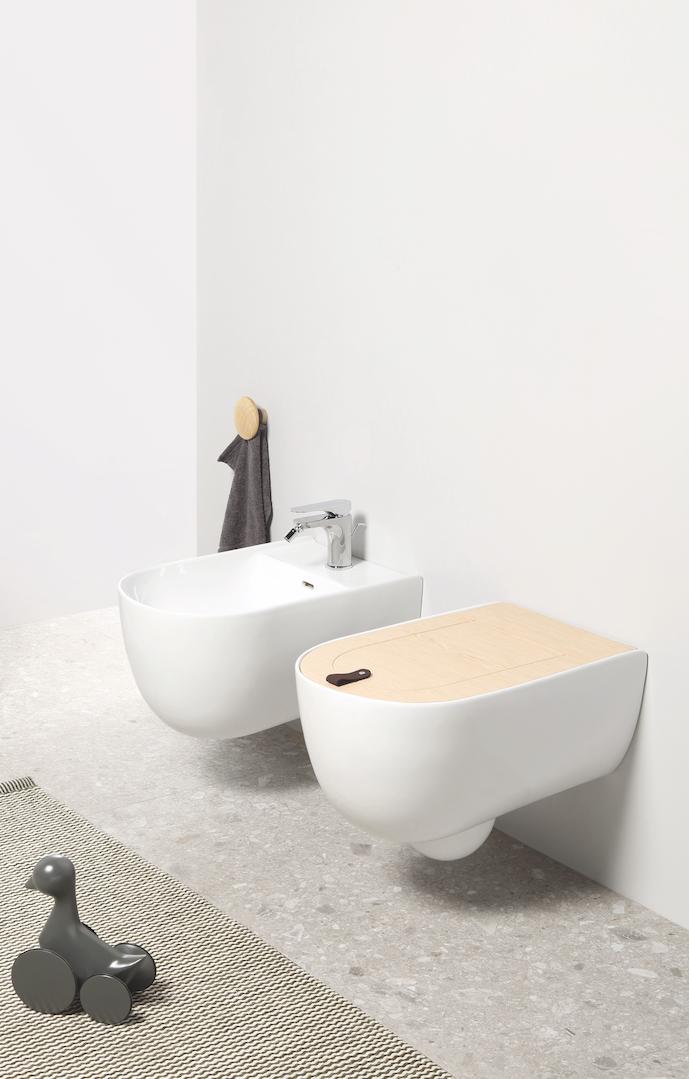 WC design suspendu The One d'Art Ceram