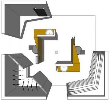 Aménager une grande salle de bain : plan de la solution La Suite d'Envie de salle de bain