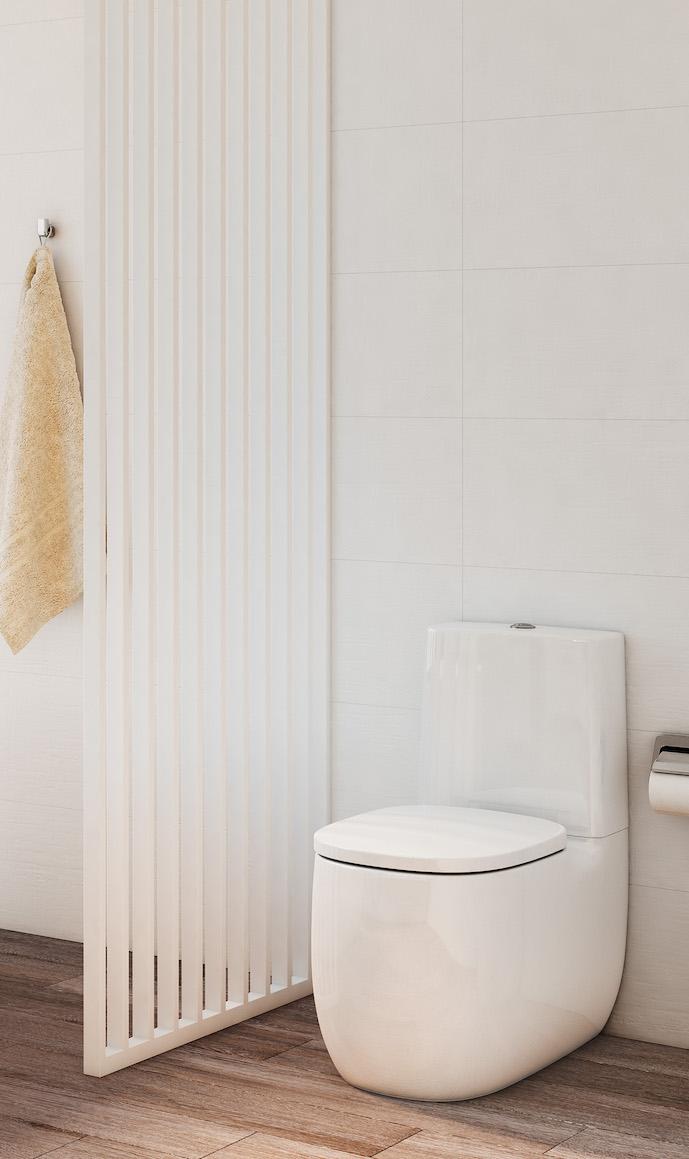 WC design sur pied Beyond de Roca