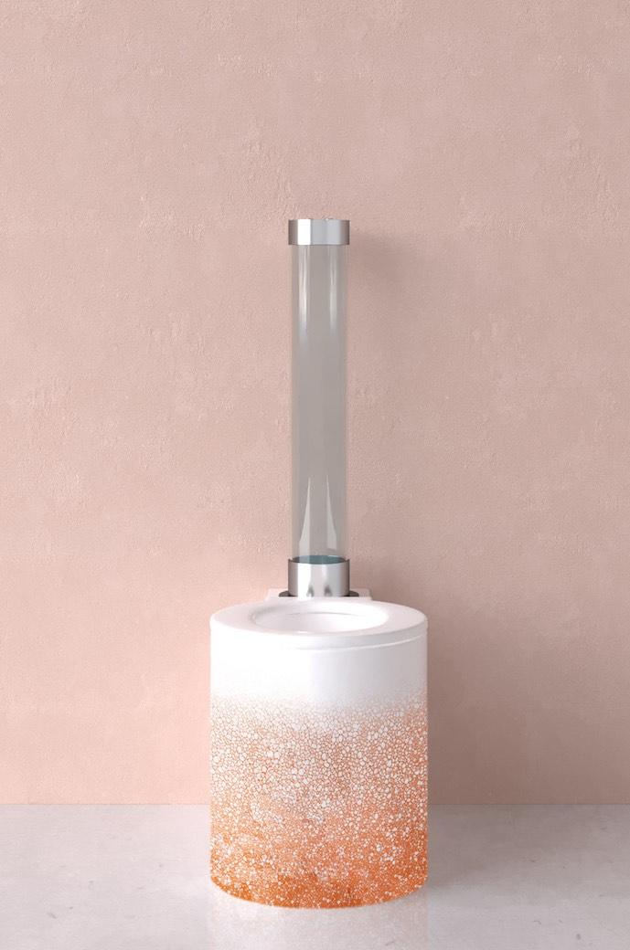 WC design Trone, en couleur