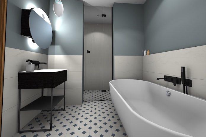 Une salle de bains moderne et chic | Styles de Bain