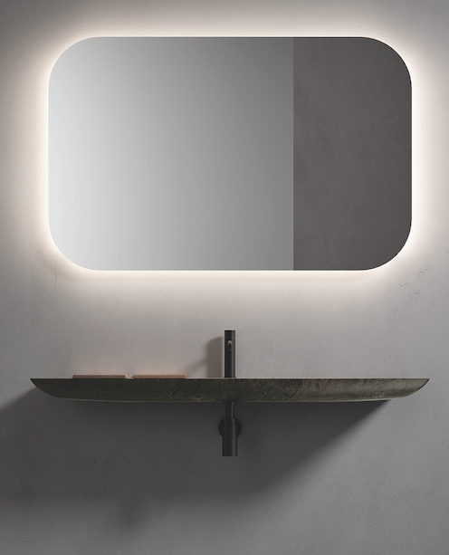 Boffi Bain lavabo L14 ultra fin de Norbert Wangen
