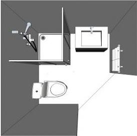 Aménager une salle de bain avec Envie de salle de bain : plan Economic