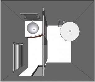 Aménager une salle de bain avec Envie de salle de bain : plan de la Mini