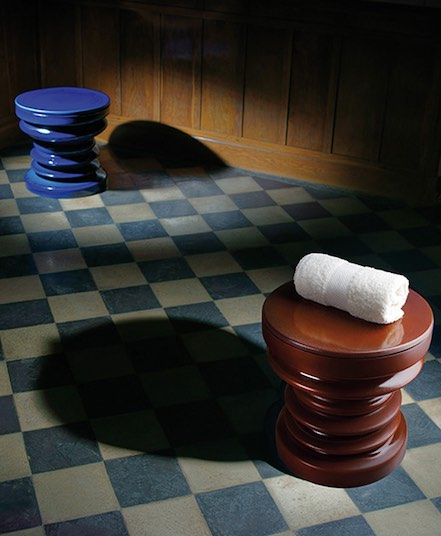 radiateur tabouret en céramique de couleur