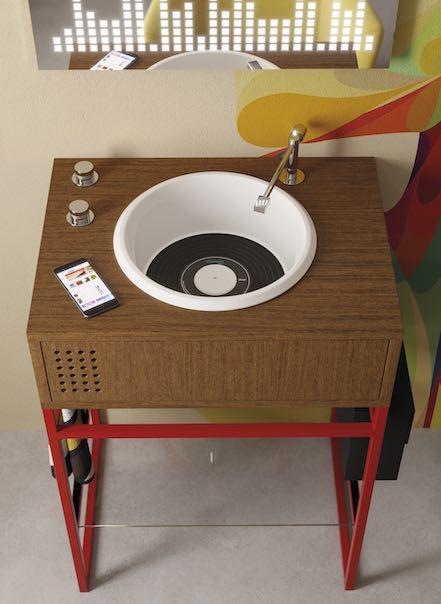 Meuble-vasque-façon-électrophone