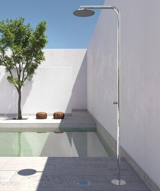 Douche de piscine Fontealta