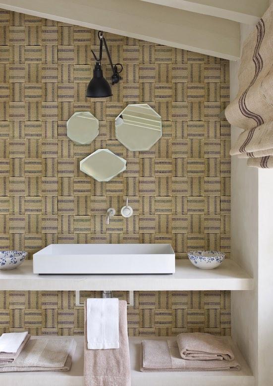Papier peint salle de bain Wall&Deco