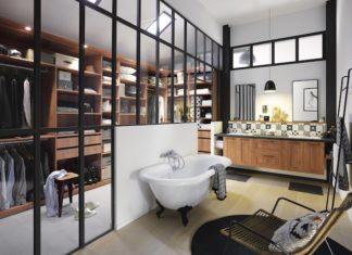 Agencer une chambre avec salle de bains | Styles de Bain