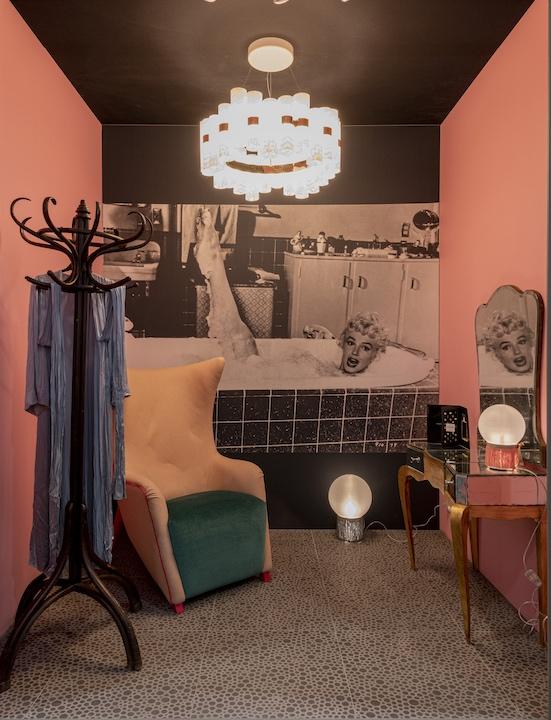 la salle de bains imaginée de marilyn monroe