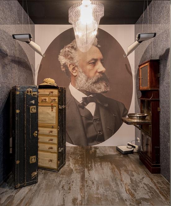 la salle de bains imaginée de Jiules Verne