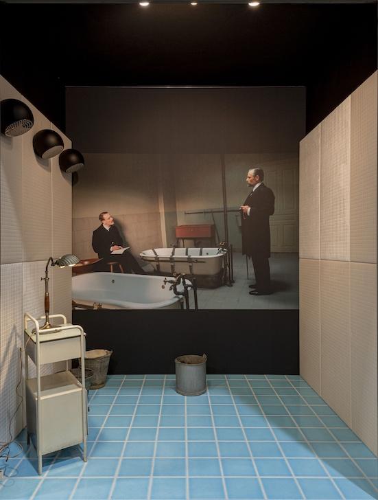 la salle de bains imaginée de Freud