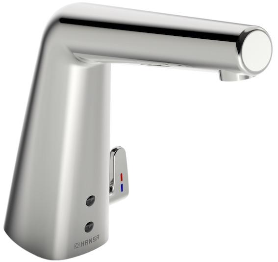 le robinet électronique hansadesigno de hansa