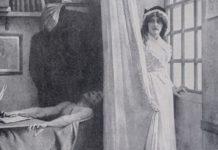 Gravure de Marat dans sa baignoire et Charlotte Corday