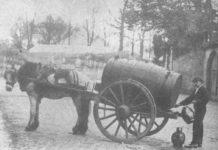 photo d'un porteur d'eau au XIXe siècle
