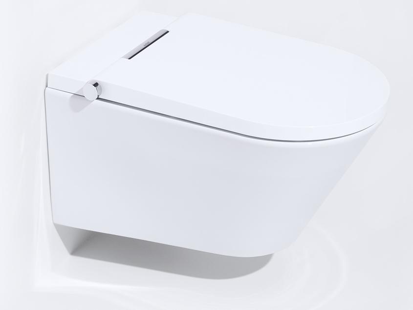 un wc suspendu lavant