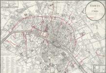 plan des égouts de Paris en
