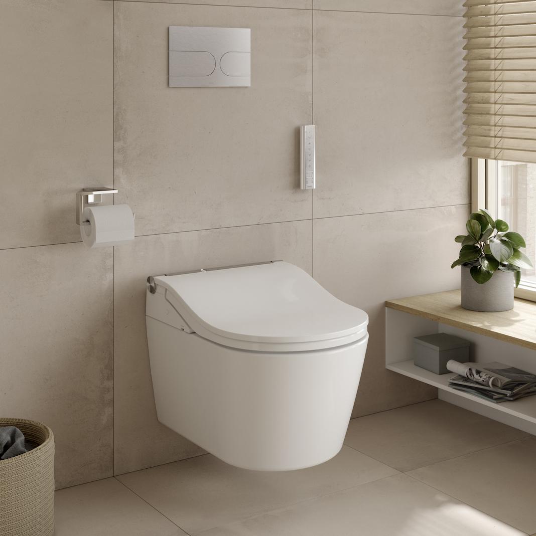 WC lavant avec abattant fermé
