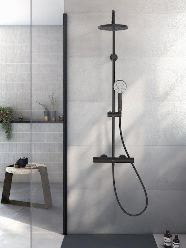 colonne de douche noire roca