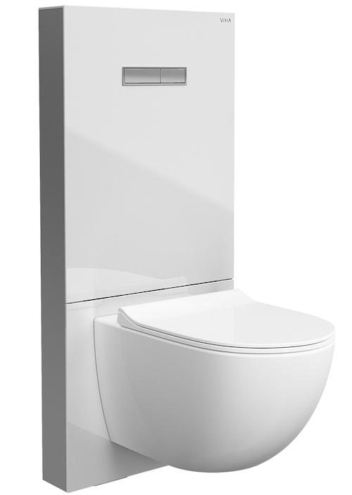 panneau sanitaire de WC blanc Vitrus de VitrA