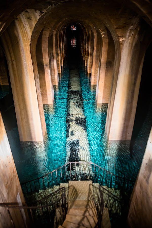 Les bassins d'eau de Montsouris Paris