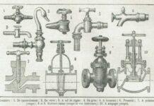 dessins de vieux robinets