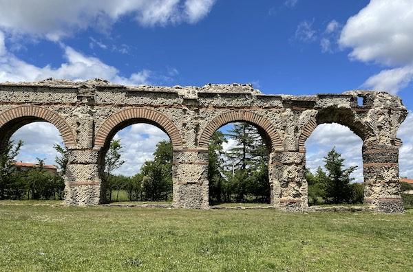 l'aqueduc du Gier à Chaponost