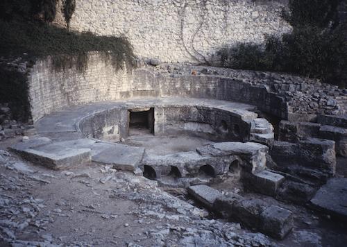 un château d'eau de l'époque romaine